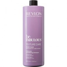 Revlon Be Fabulous Texture Care Cream sampon göndör hajra, 1000 ml Sampon
